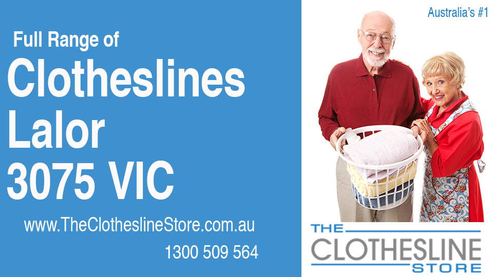 New Clotheslines in Lalor Victoria 3075