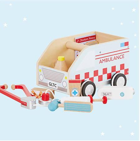 Ambulance Doctor's Set for Kids