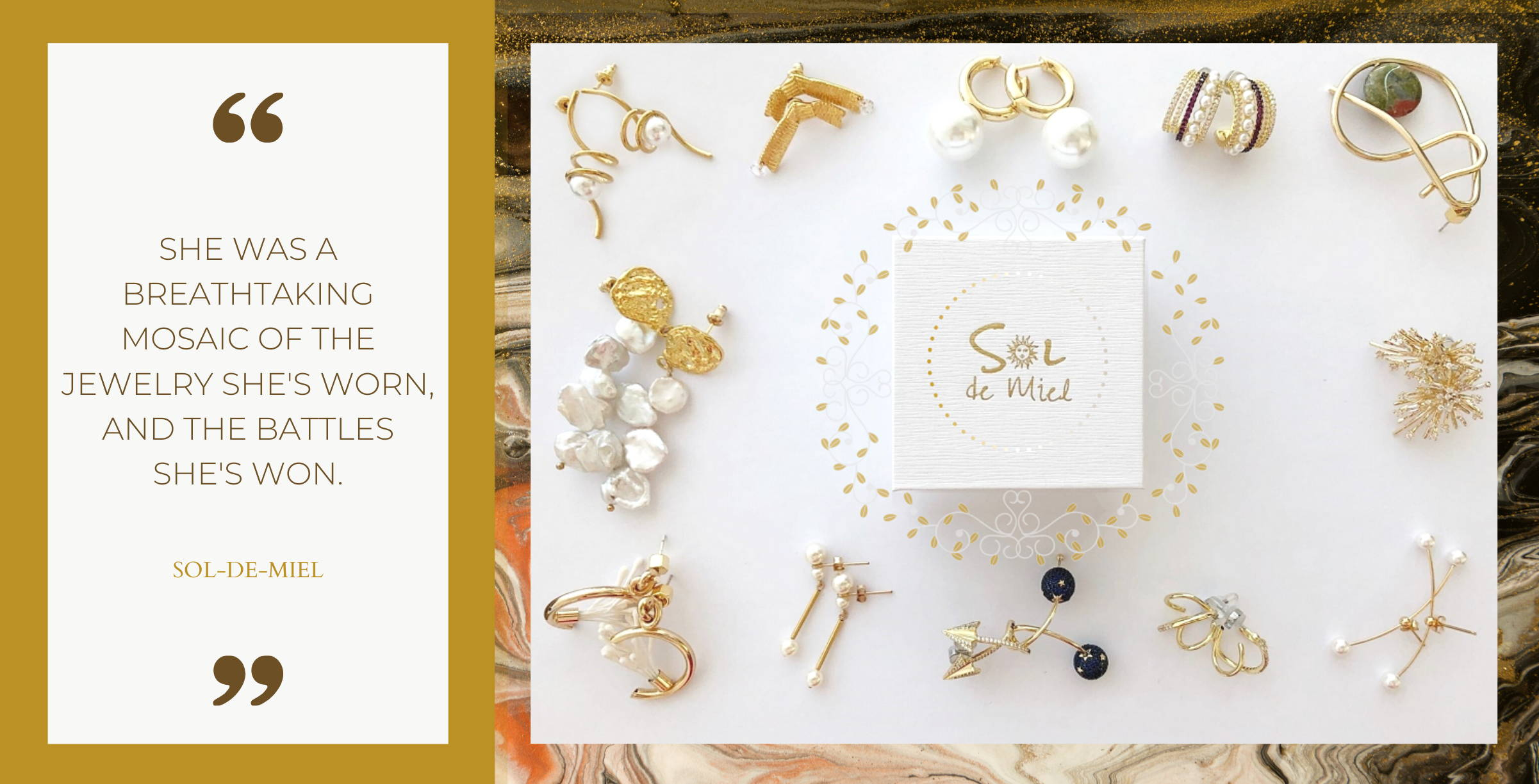 Sol-de-Miel Unique Artisan Jewelry Shop All Products