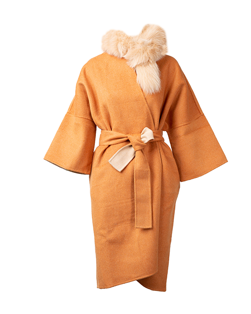 Orange Fur Coat  | Holiday Gift Guide | J.ING
