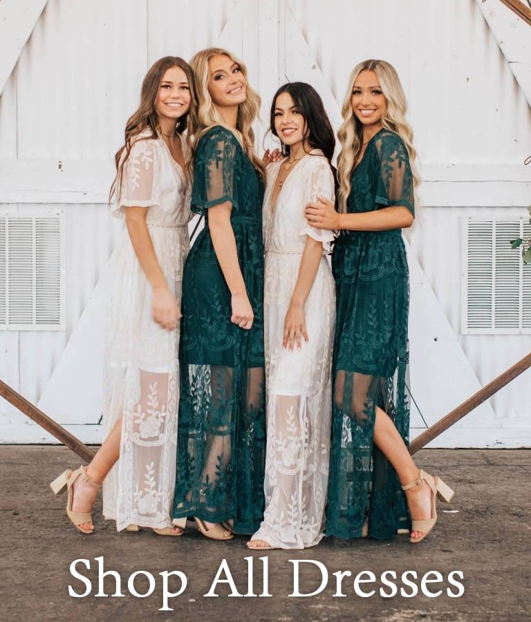 Shop All Dresses from Bella Ella Boutique.