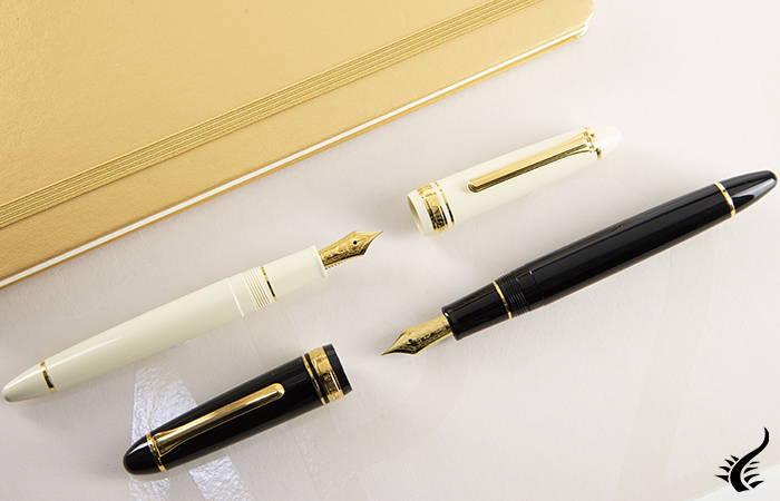 Sailor 1911 pens gold black white