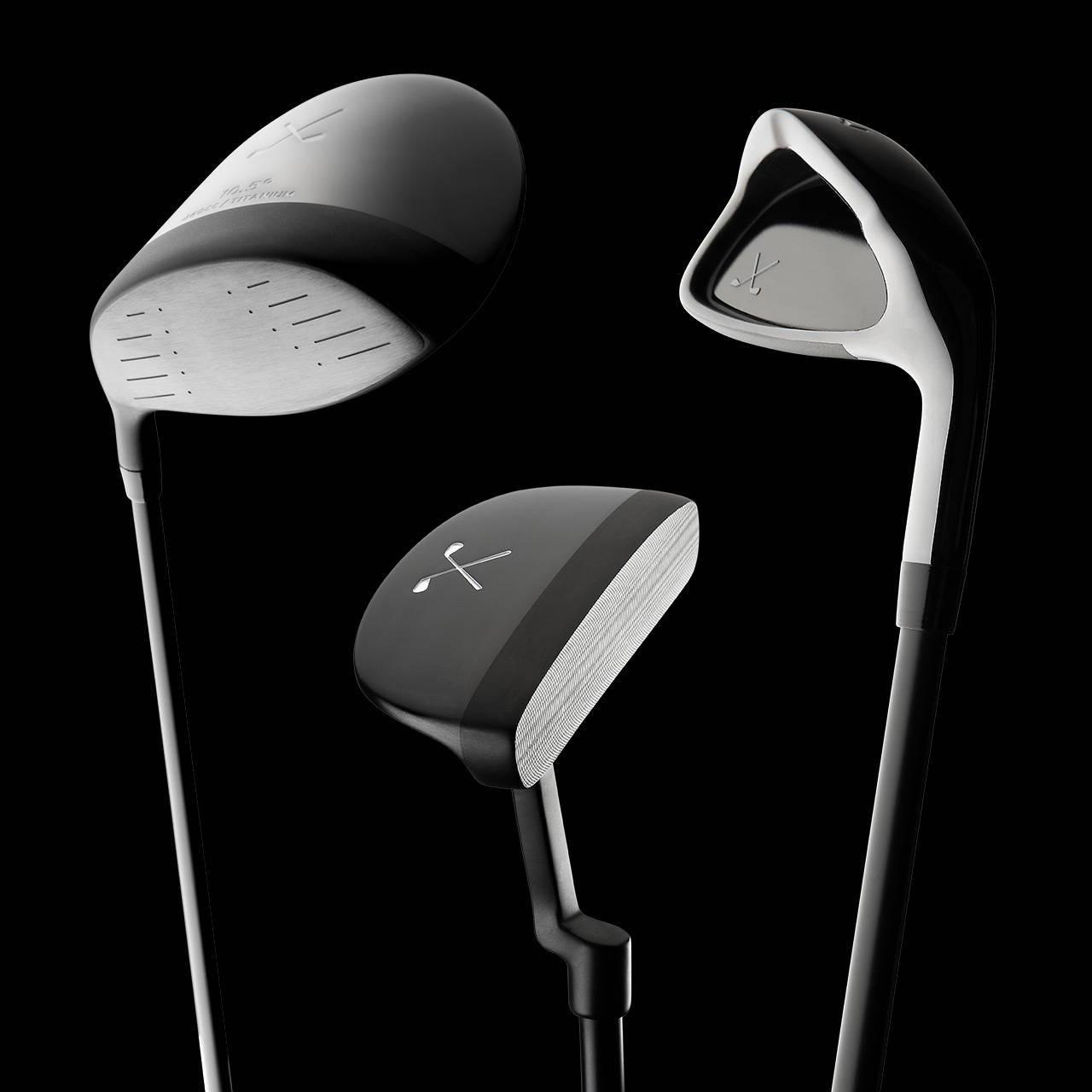 Stix Golf - All Black Golf Clubs