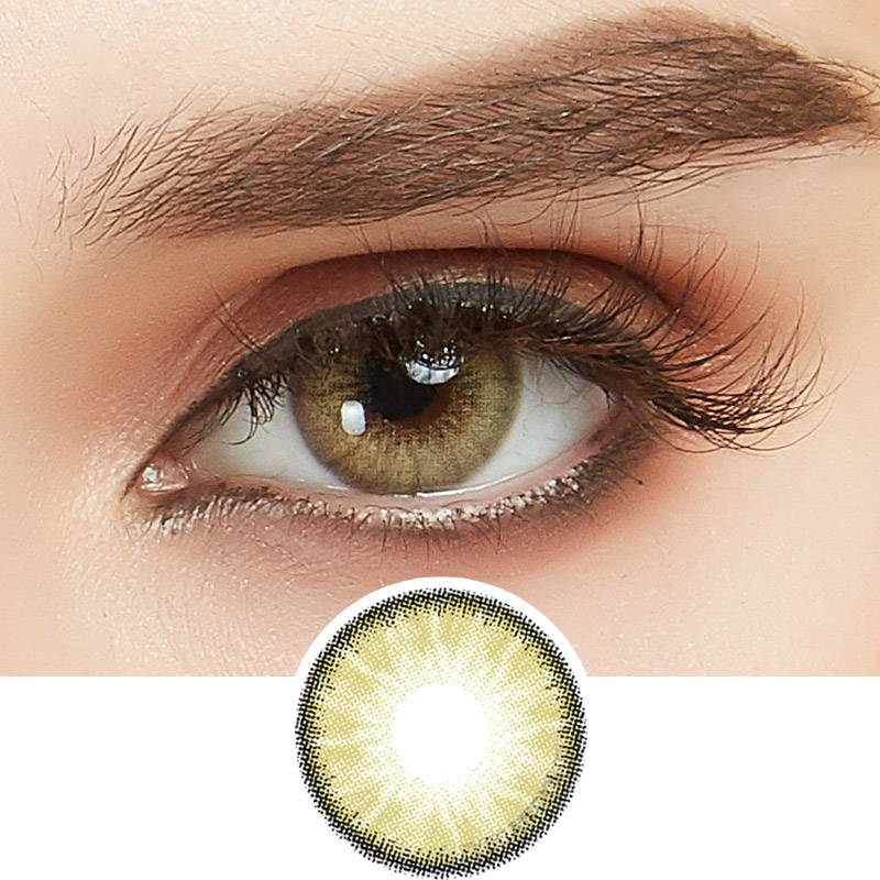 Desire Sandy Beige Color Contacts