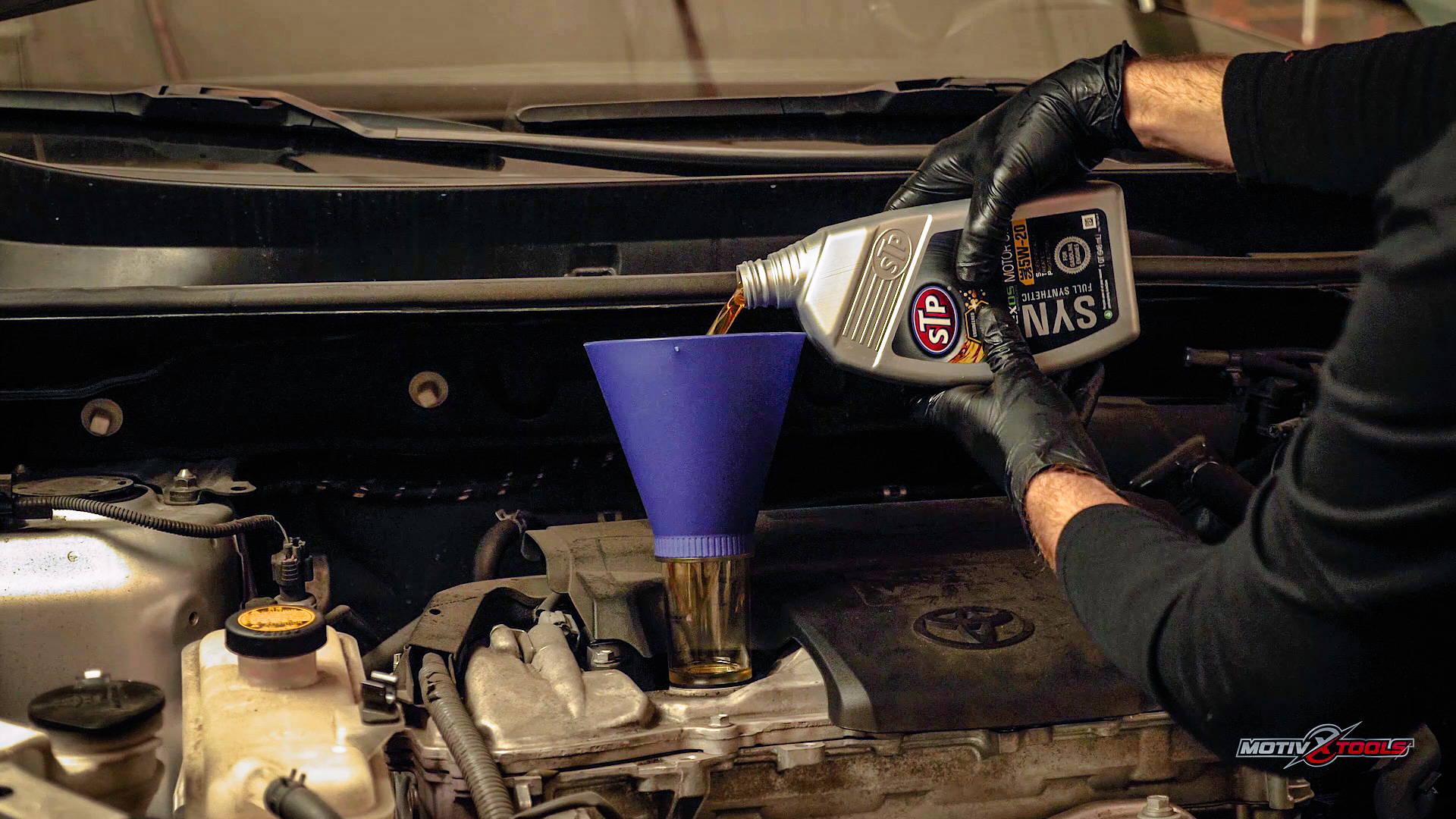2009-2018 Toyota RAV4 Oil Change Guide - Motivx Tools