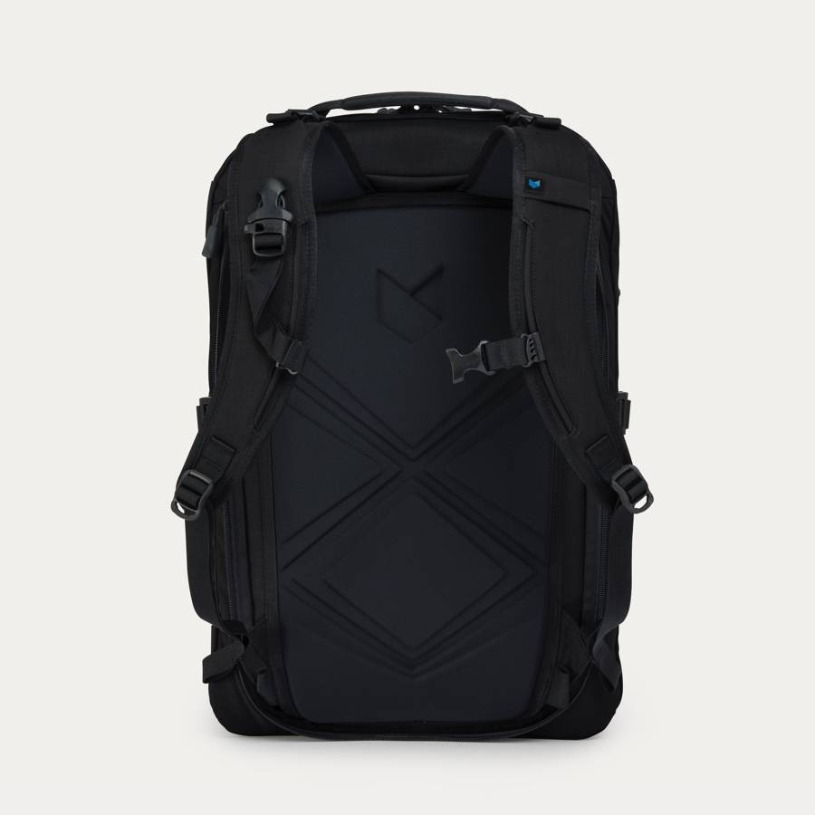 436eaccace Minaal Carry-on 2.0 - Aoraki Black, back panel