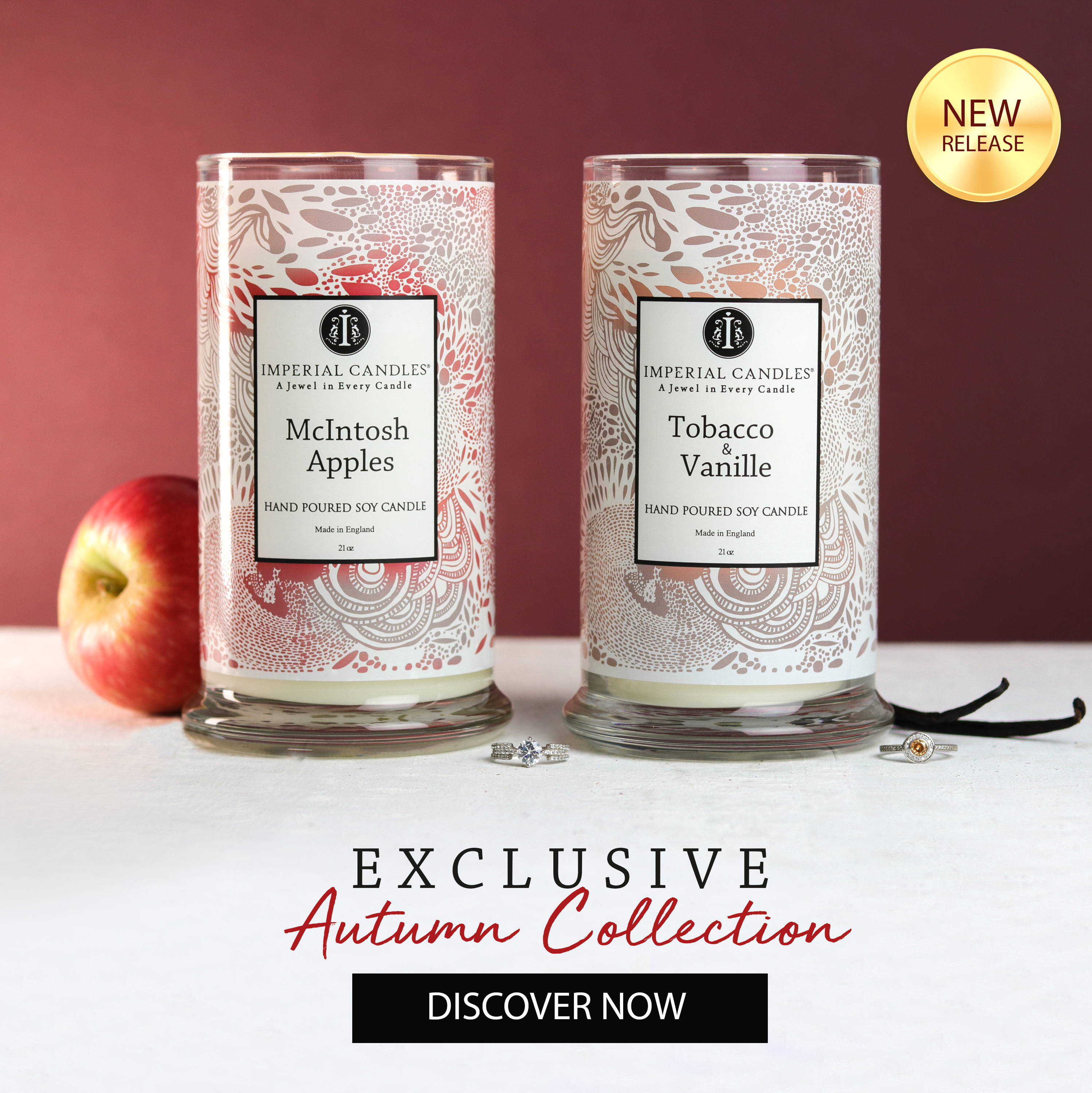 Imperial Candles - Autumn Collection