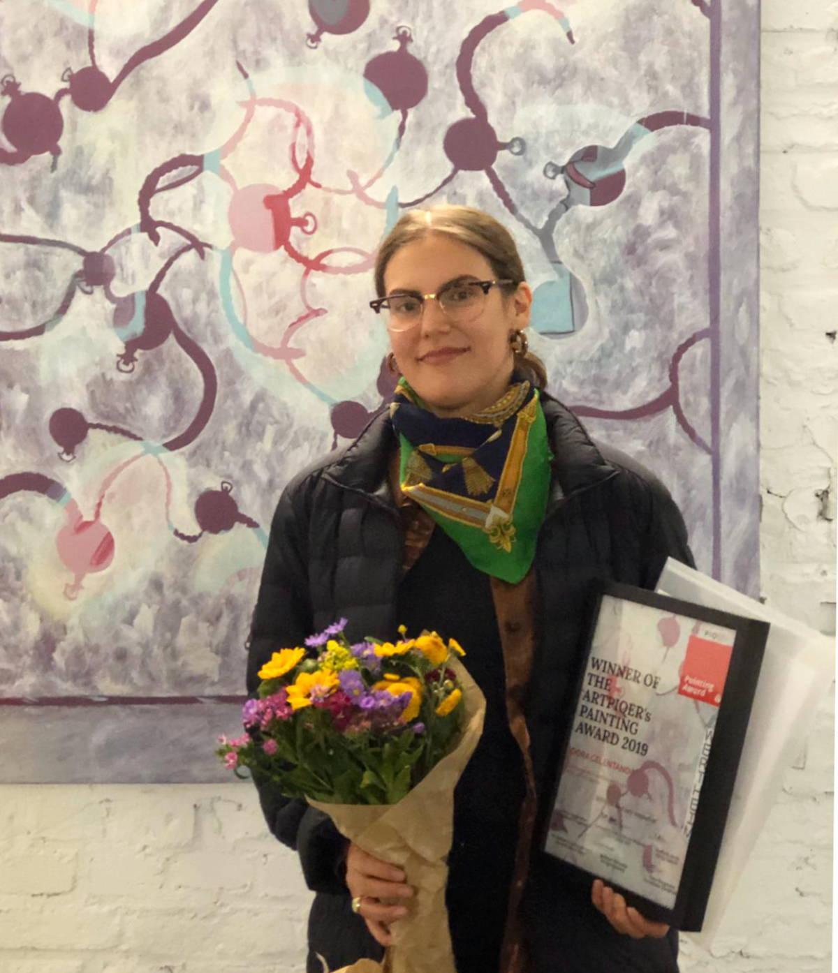 painting award winner Dora Celentano