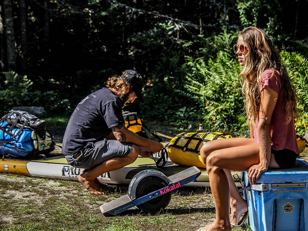 GETTING SUP GEAR READY FOR A MULTIDAY TRIP
