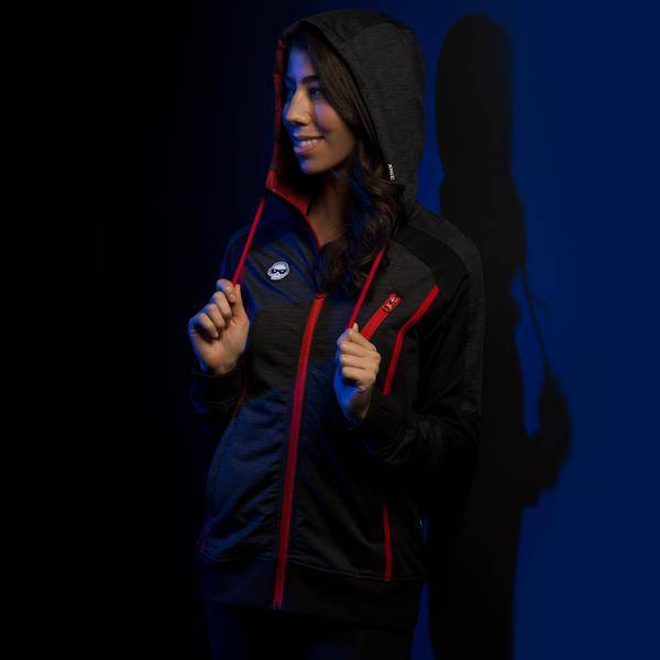 J!NX PRO FULL RENDER WOMENS WARM-UP JACKET