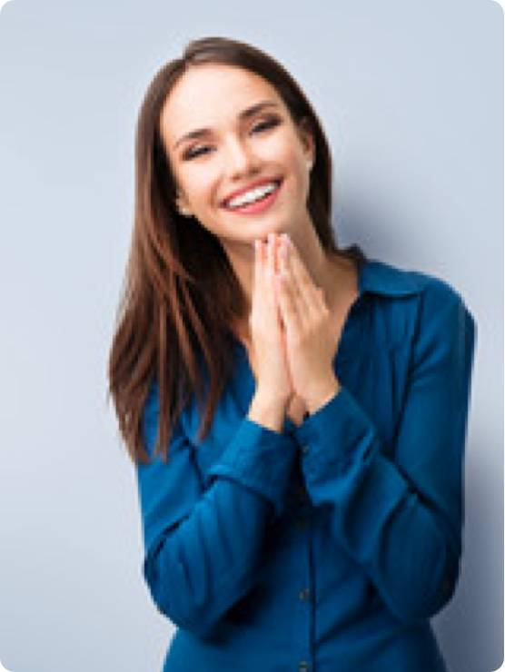 Picture Of Women With Long Hair Smiling
