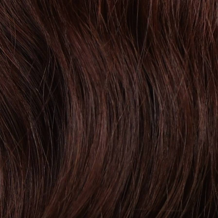 light red hair extensions color sample in hair color chart