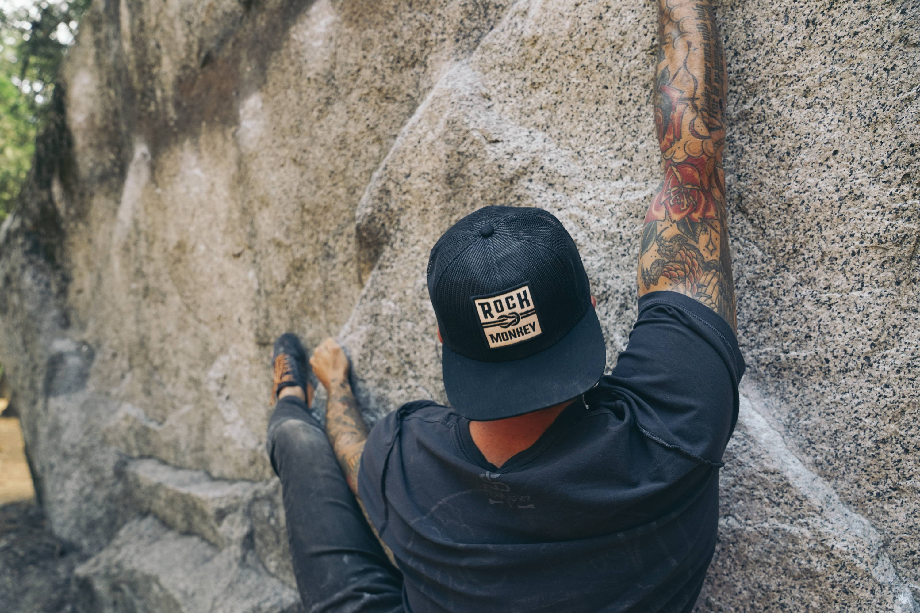 Holiday Gift Guide 2018 - Men's Black Knot Mesh Hat