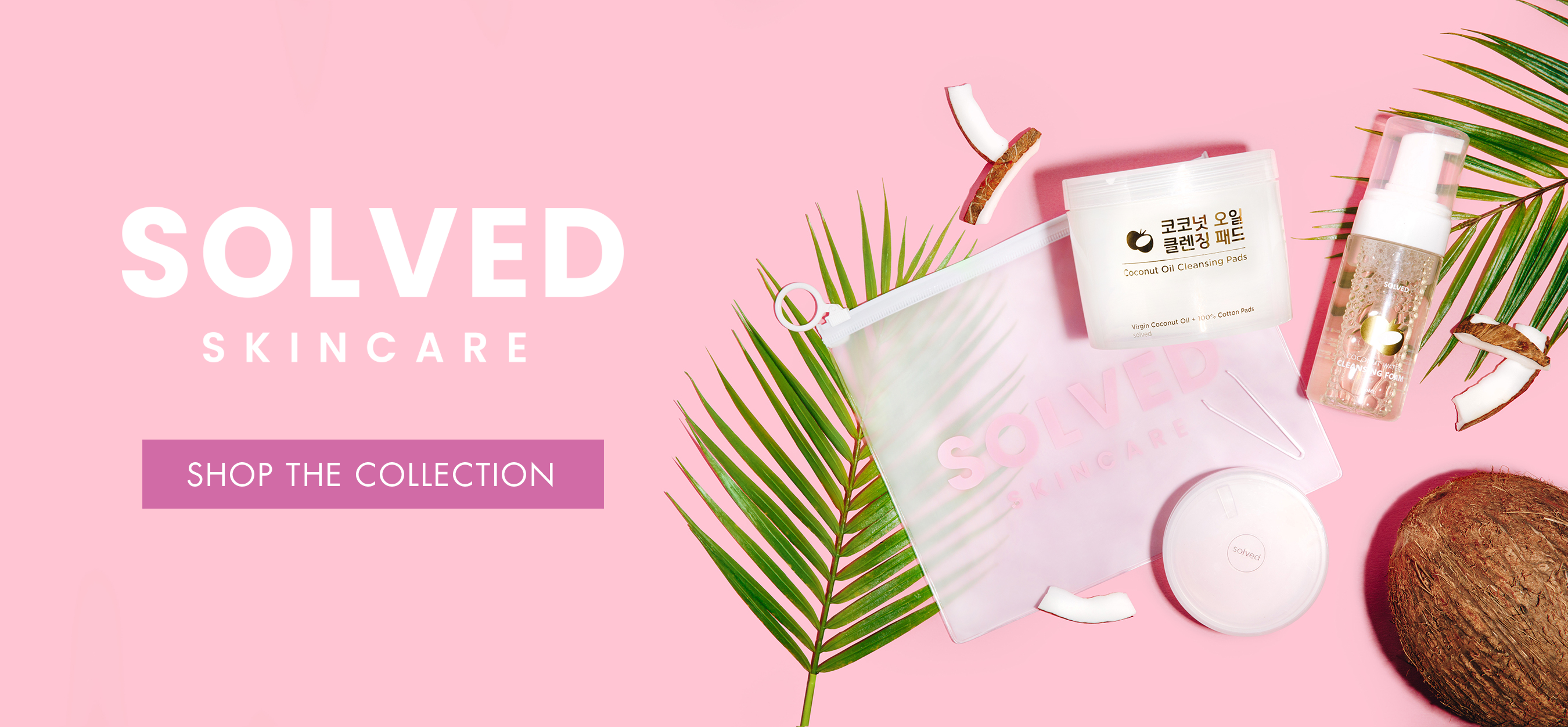 Shop the Solved skincare collection