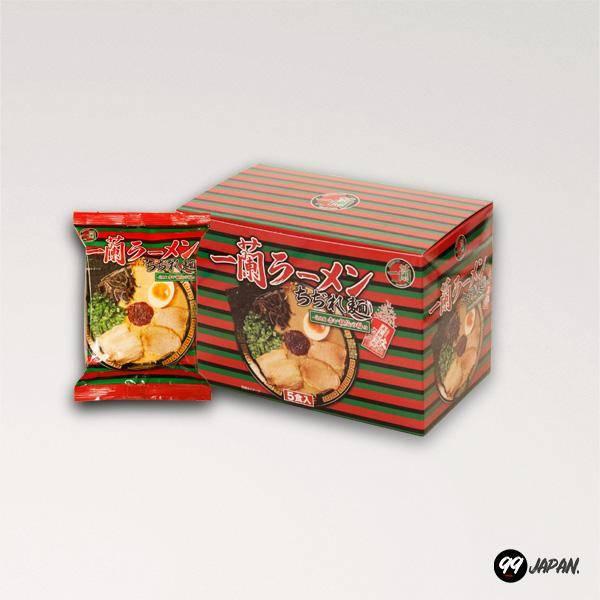 A pack of Ichiran Instant Ramen.