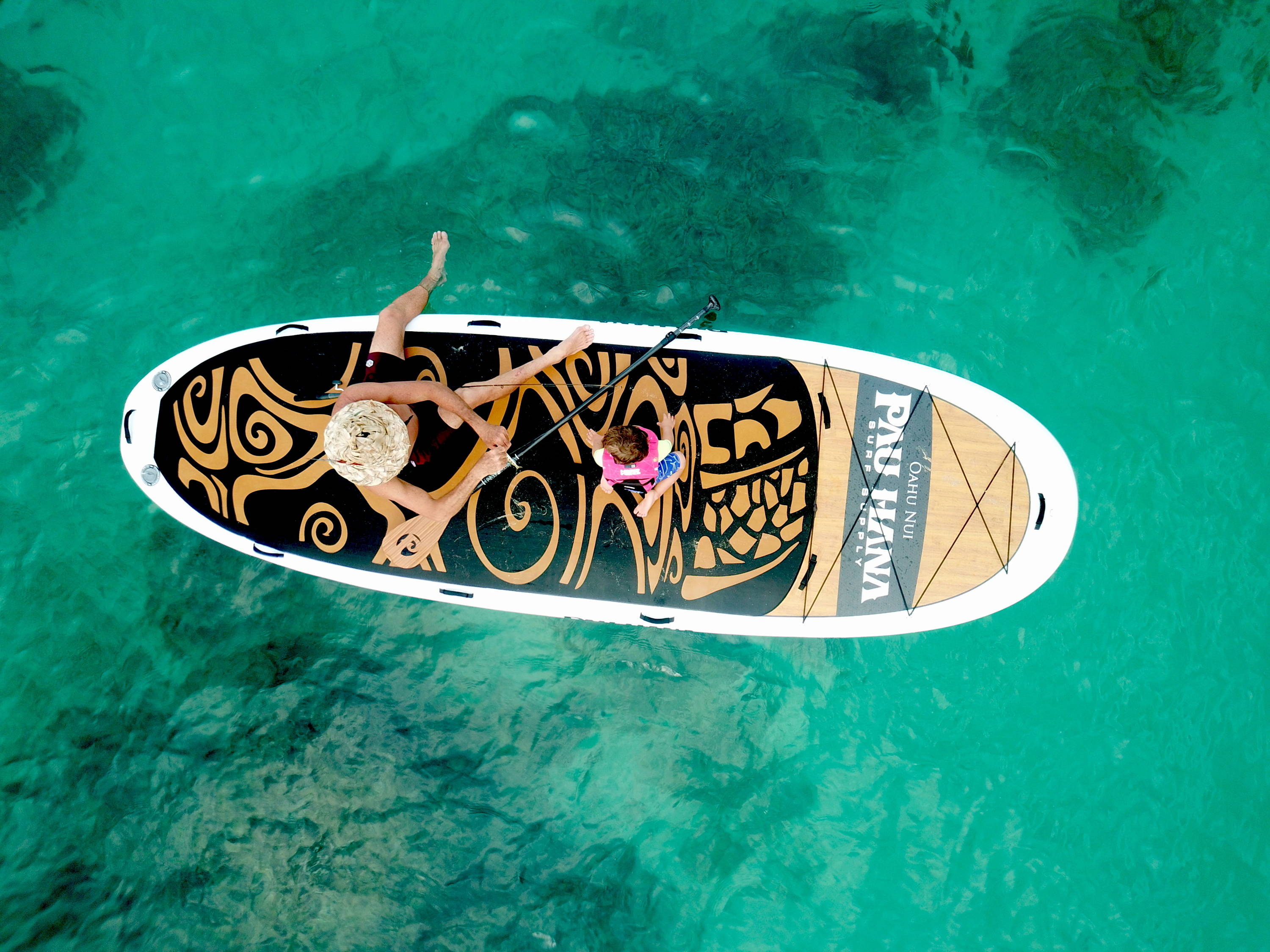 The best giant paddle board out there. Oahu nui giant stand up paddle board inflatable