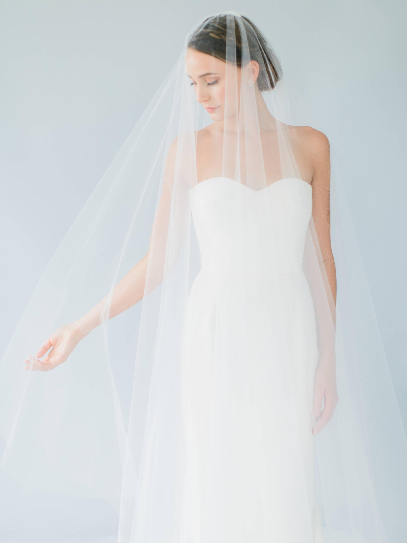 Ampersand Bridal Cascade Veil