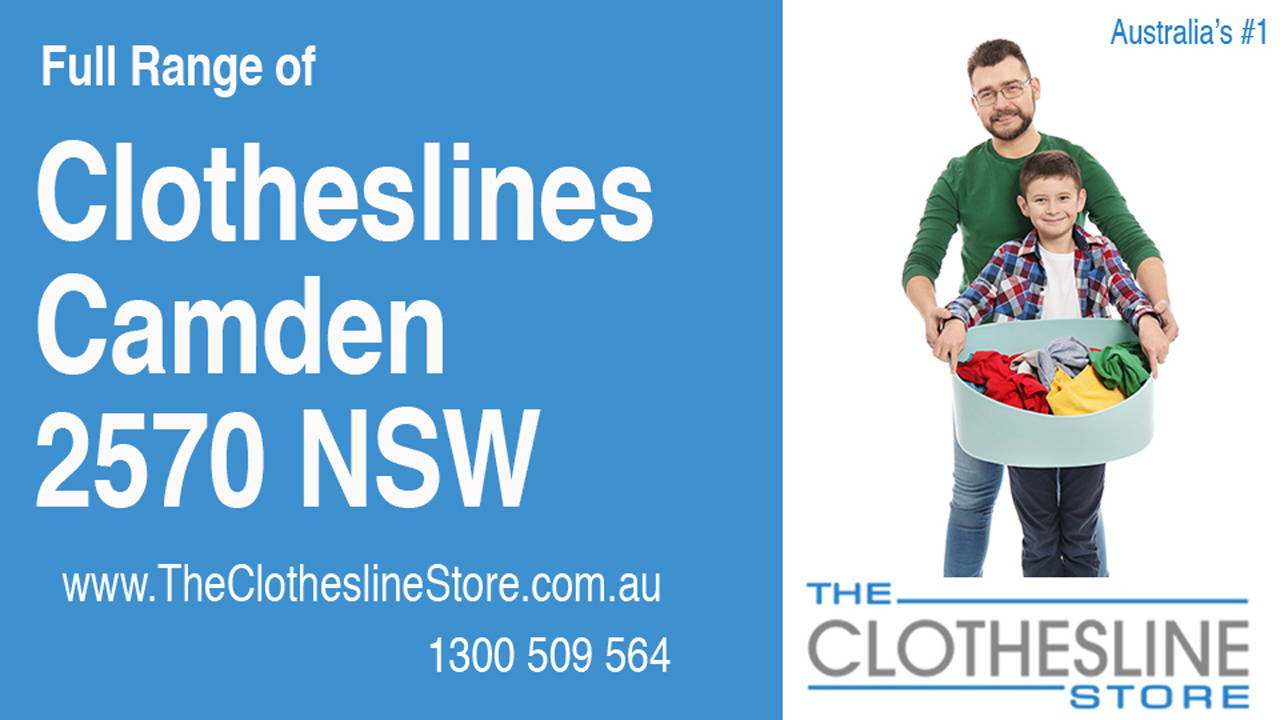 New Clotheslines in Camden 2570 NSW