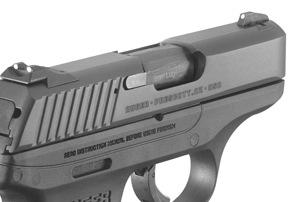 Ruger LC9 sleek cannon