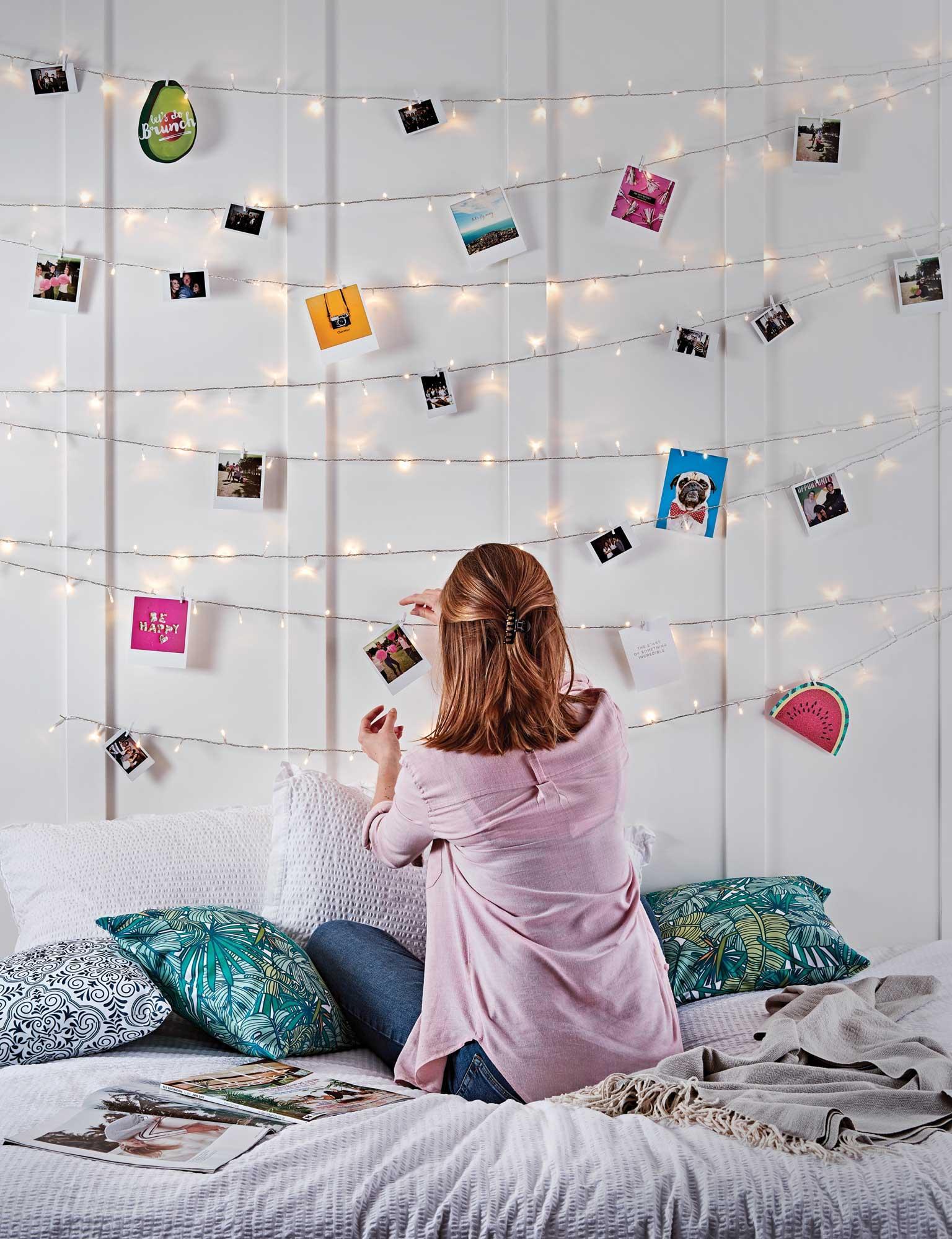 Fairy Light Wall Diy Lights4fun Co Uk