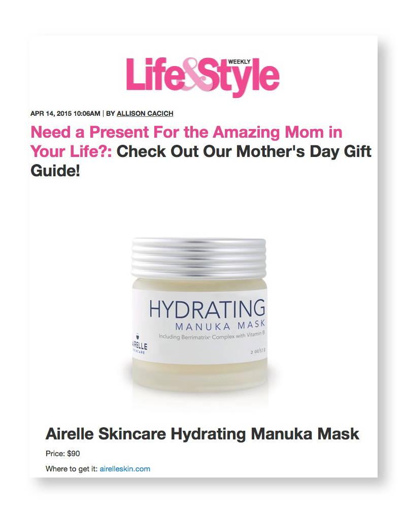 Life & Style Airelle Manuka Mask article