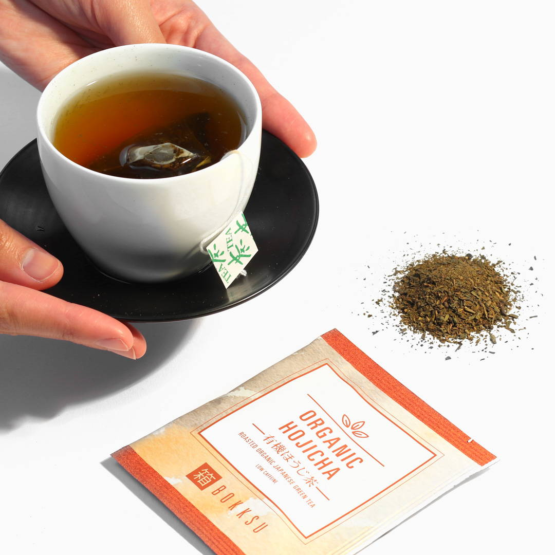 Bokksu Japanese Hojicha Tea