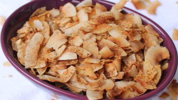 Cinnamon Coconut Chips