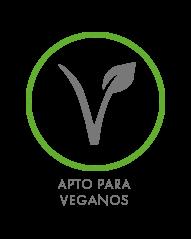 Logo apto para veganos