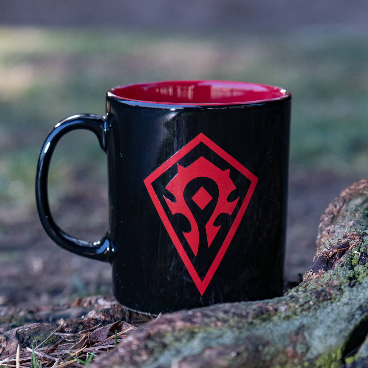 Photo of a World of Warcraft mug