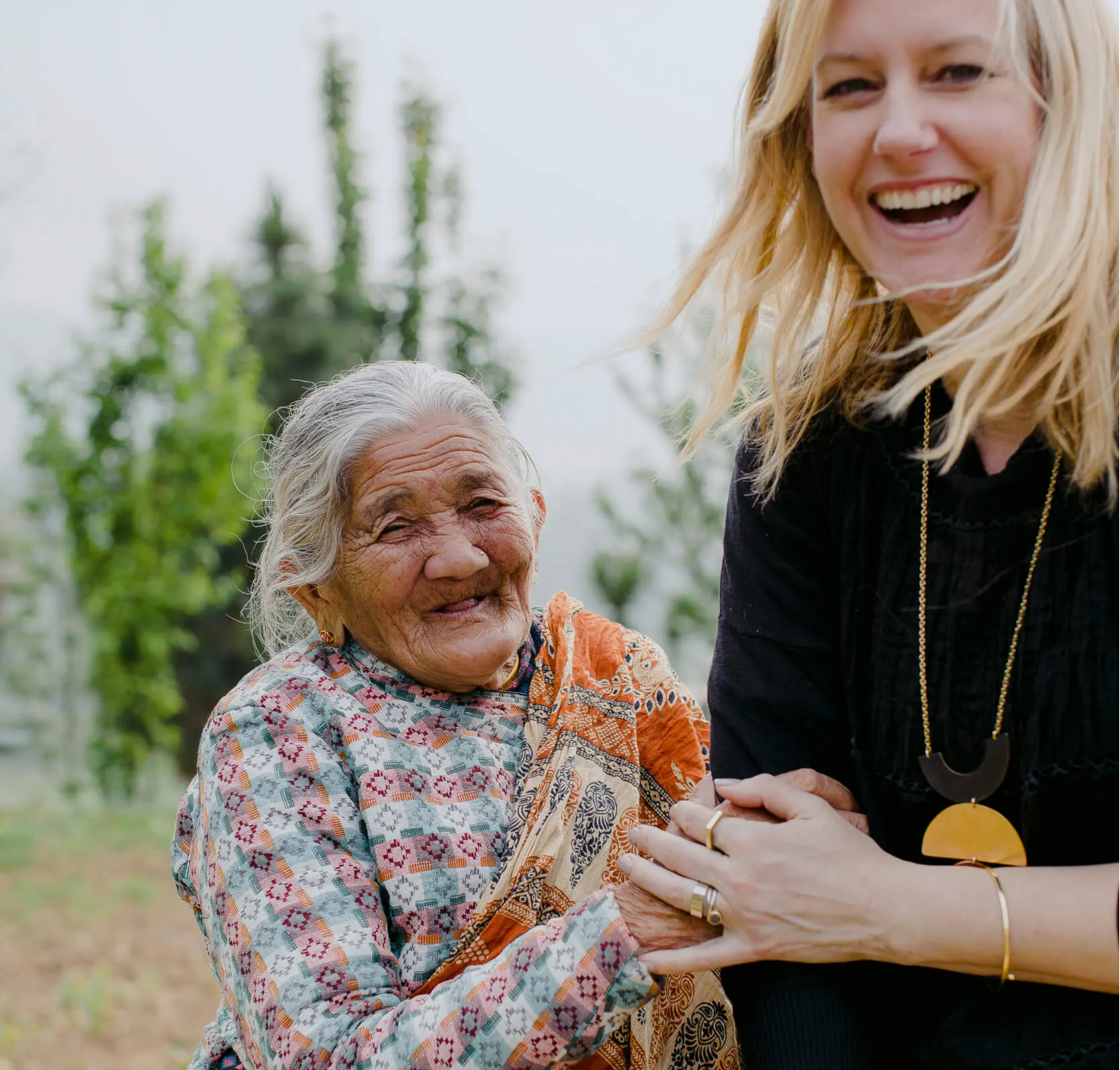 Ethical fashion brand MULXIPLY's founder Tanja Cesh works with artisans in Nepal