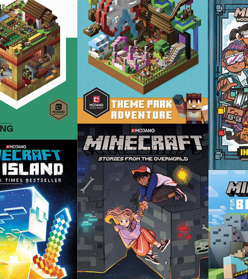 A collection of Minecraft Books