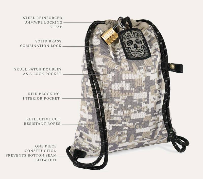 7d12d7831ca2 Flak Sack II COALITION – Loctote Industrial Bag Company