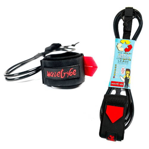 Recycled Eco-Surfing Leash by Wave Tribe