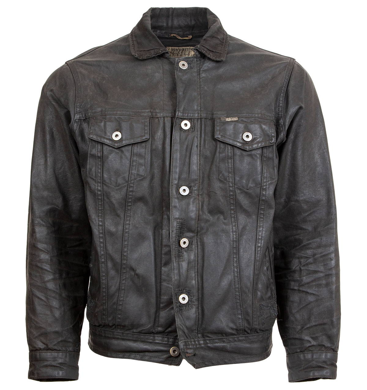 Iron & Resin Rambler Jacket Weathered & Worn Repaired Frontside