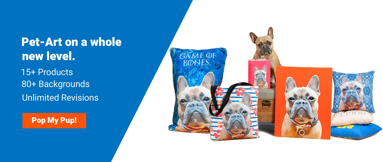 079593d4a862 Dog Art & Cat Art | Custom Pet Pop Art | Pop Your Pup!