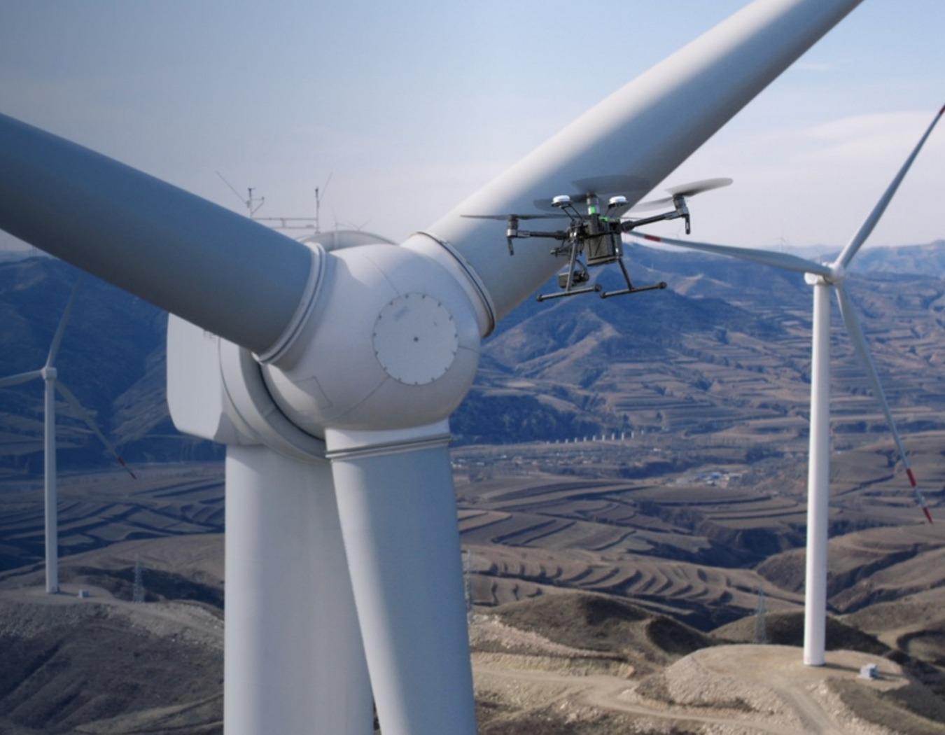 DJI Matrice 200 Series Wind Energy