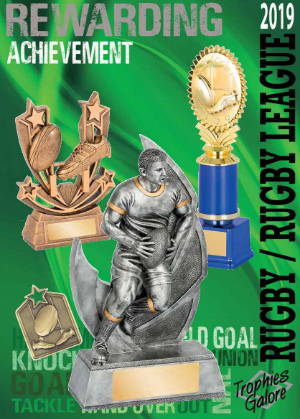 Trophies Galore Rugby Catalogue