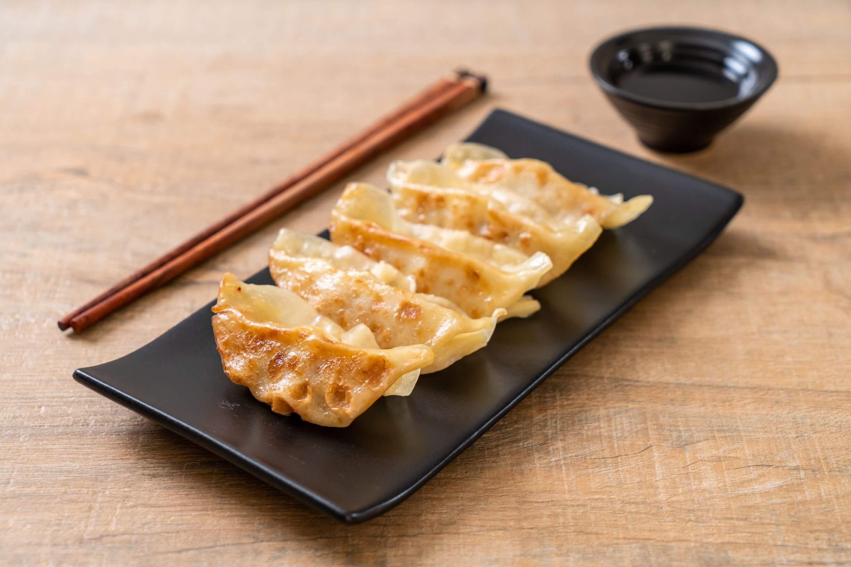 gyoza, Japanese dumplings