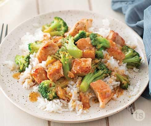 Sweet Teriyaki Pork & Broccoli