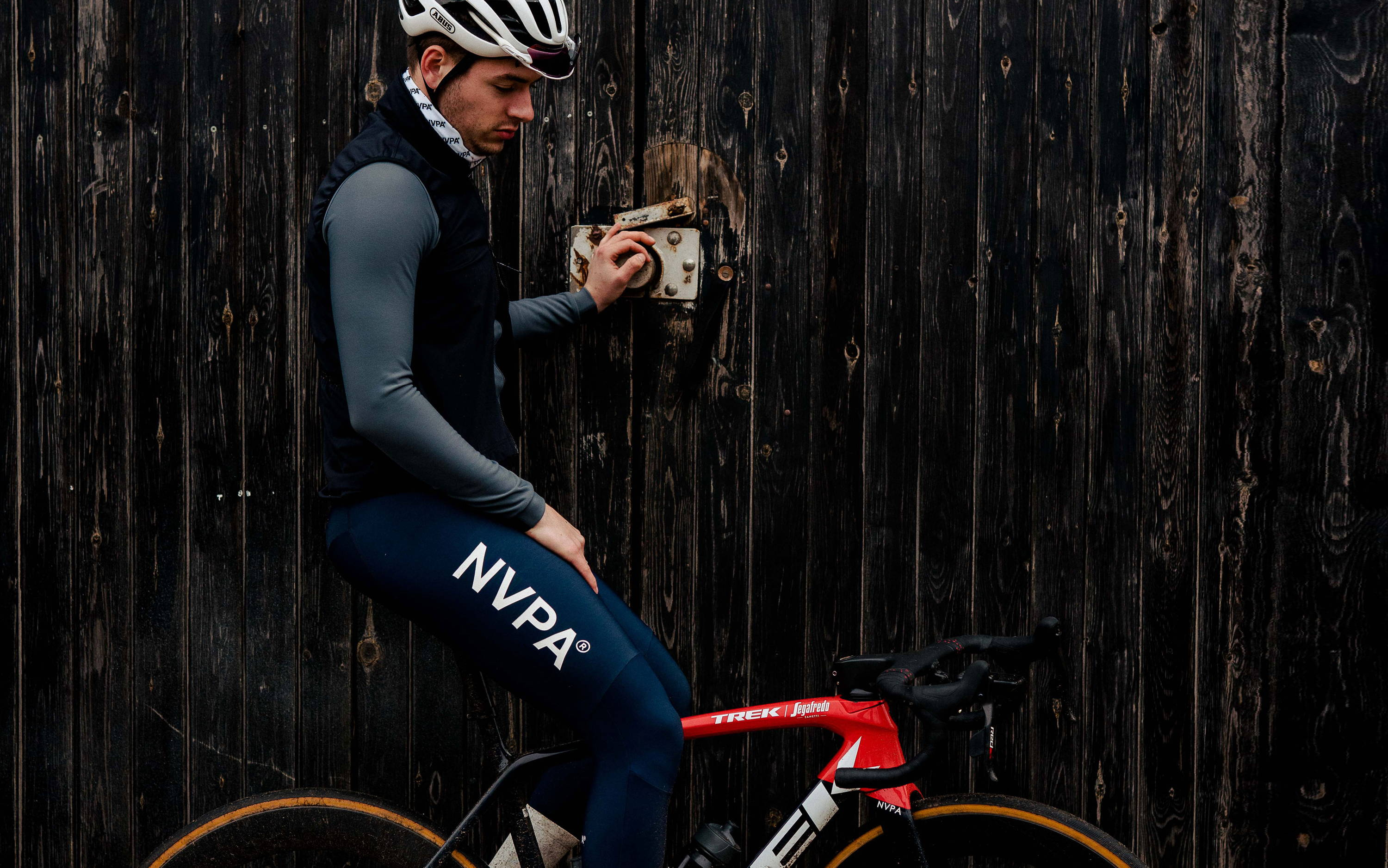 Cyclist we are NVPA - Shop the look