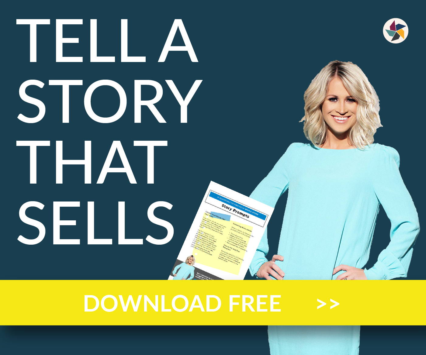 17 questions to find your brand story free download