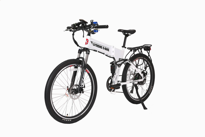 Baja electric bike white