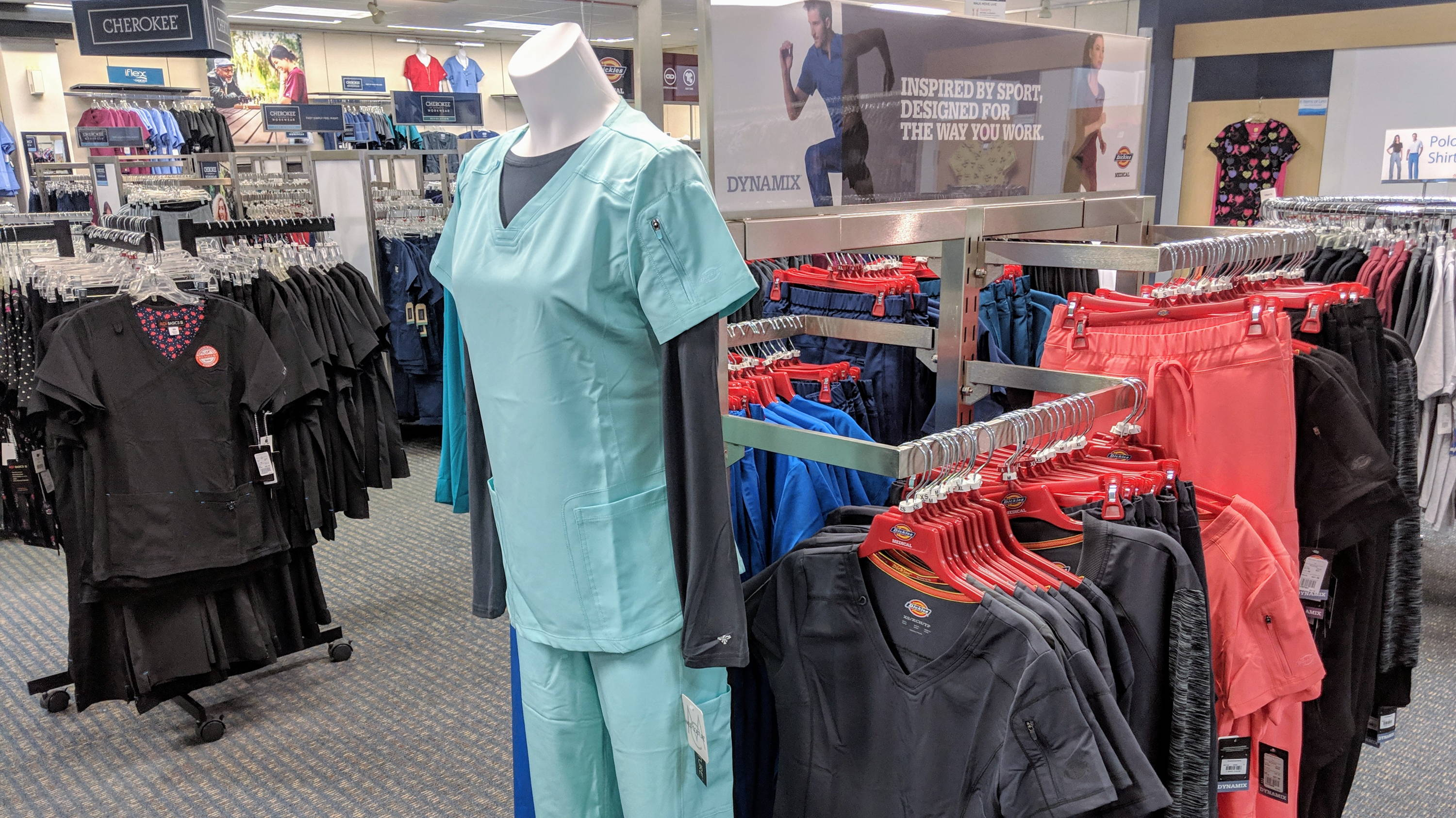 Dickies Medical Scrubs available at Affordable Uniforms Garfield Hts.