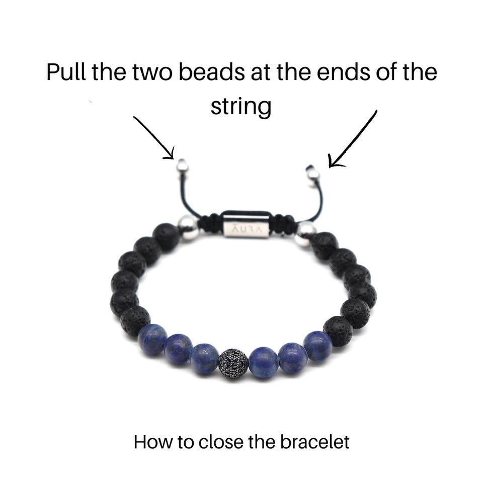 How To Close Mantra Bracelet