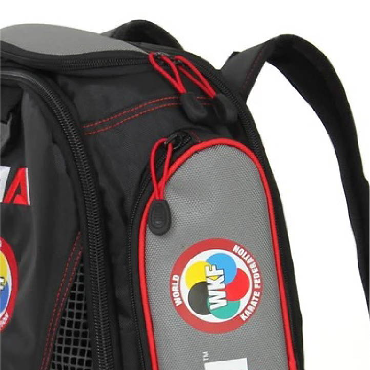 secondary side storage world karate federation performance backpack