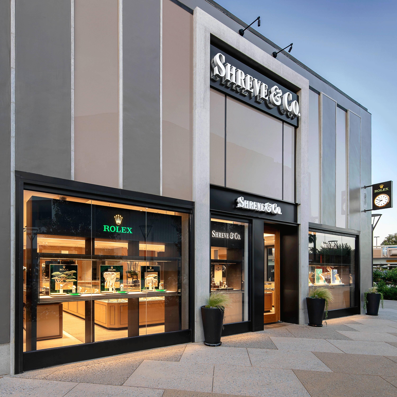 Shreve & Co Palo Alto Store Front