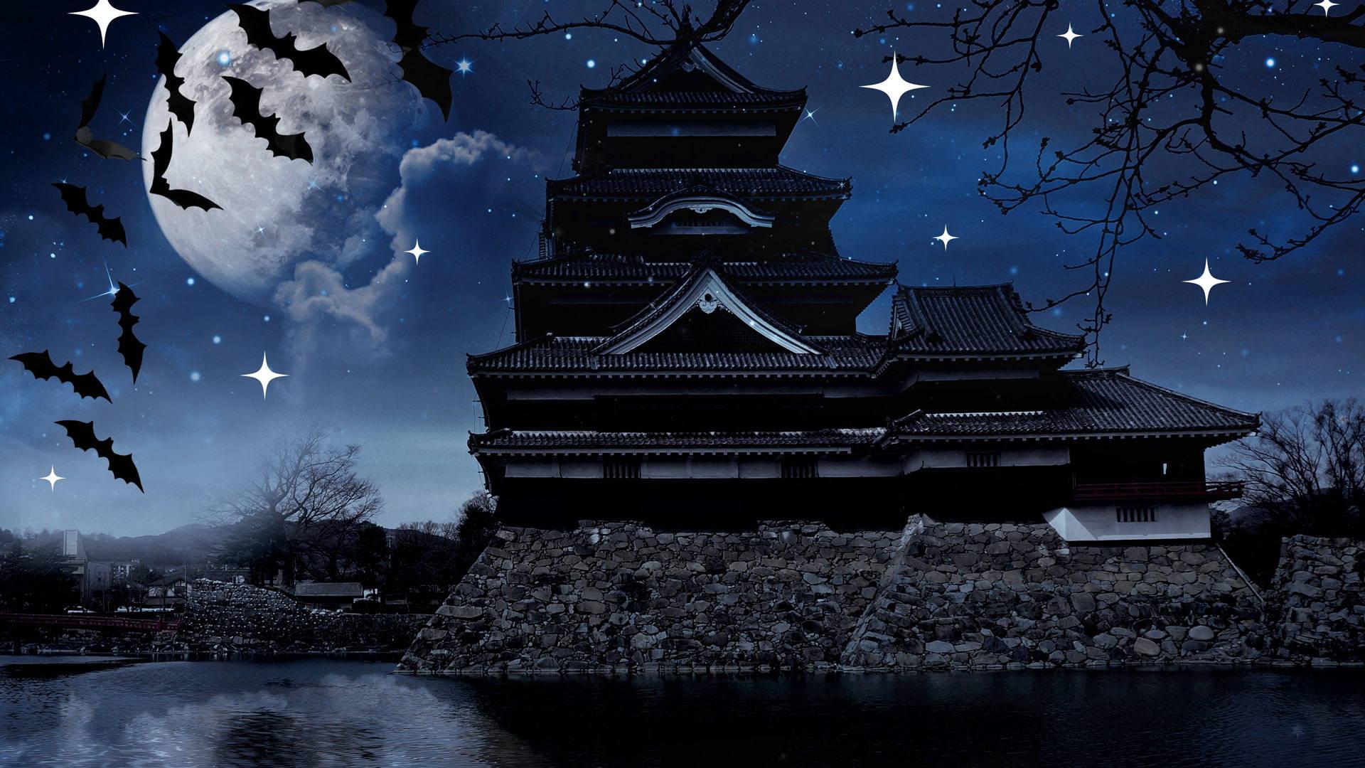 Spooky Japanese Castle