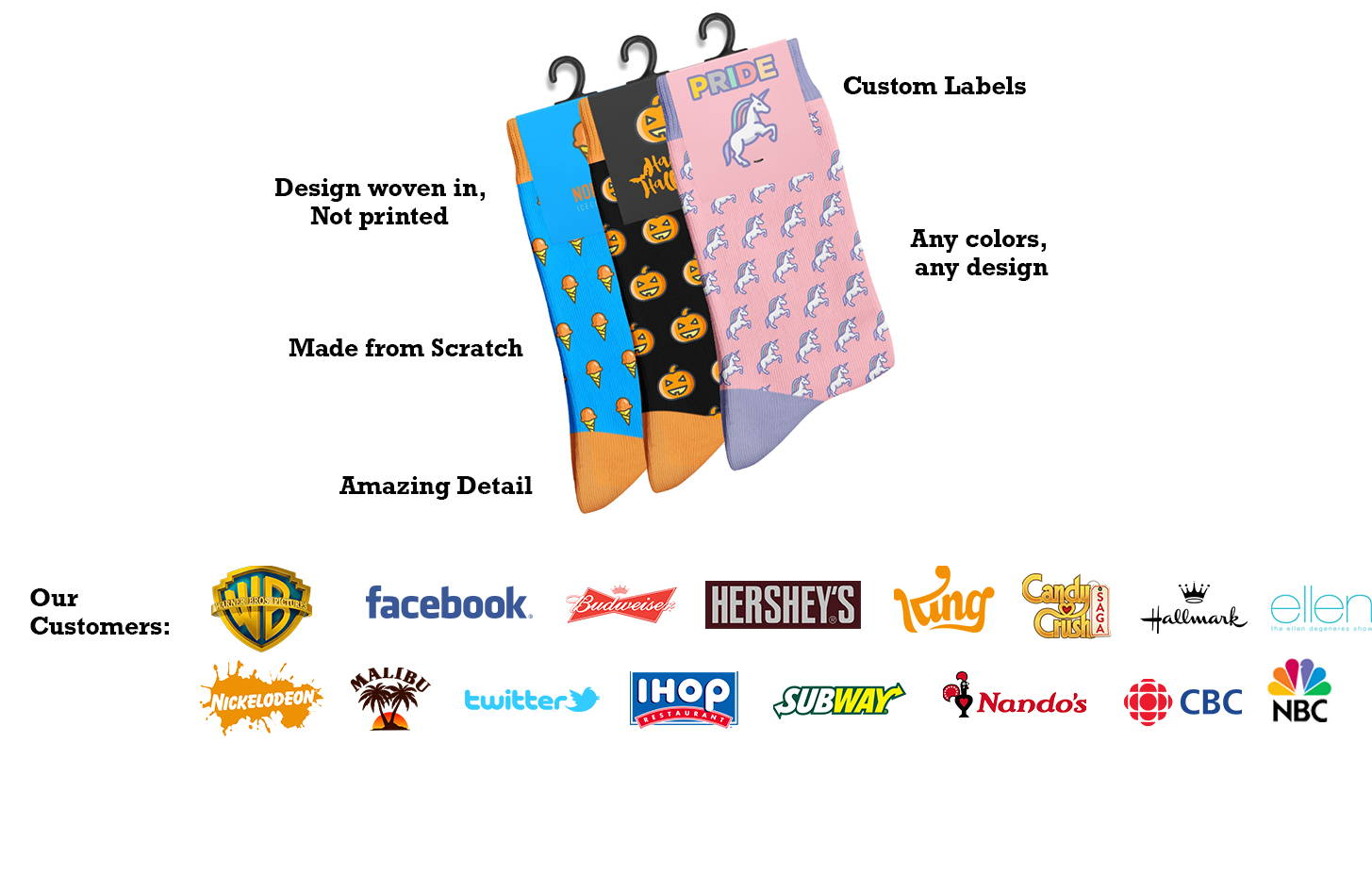 An image of some custom socks