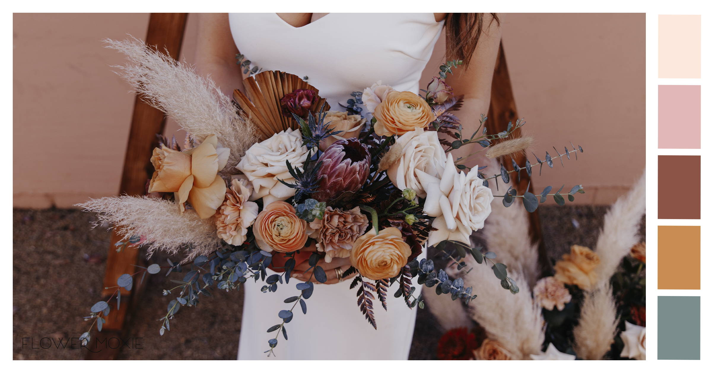 Boho DIY wedding flower packages