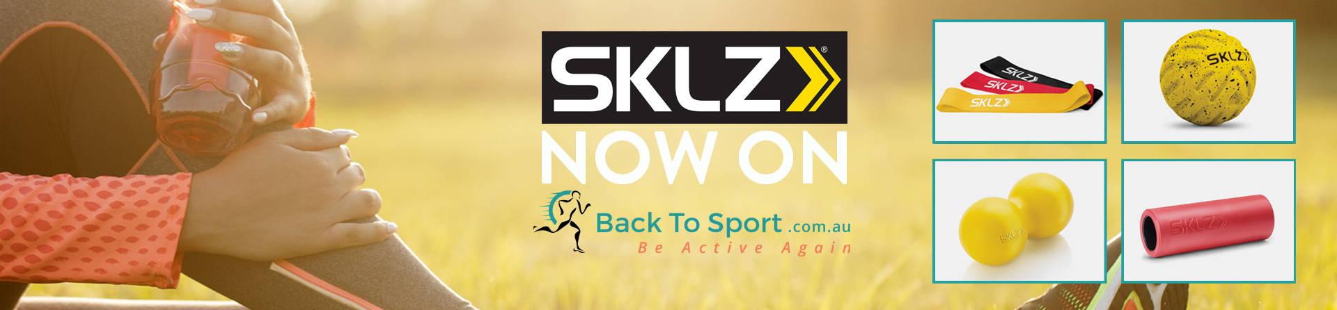SKLZ Brand banner